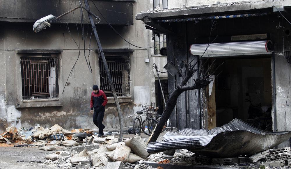 Syrie-Homs
