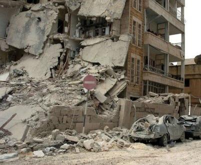 Syrie detruite
