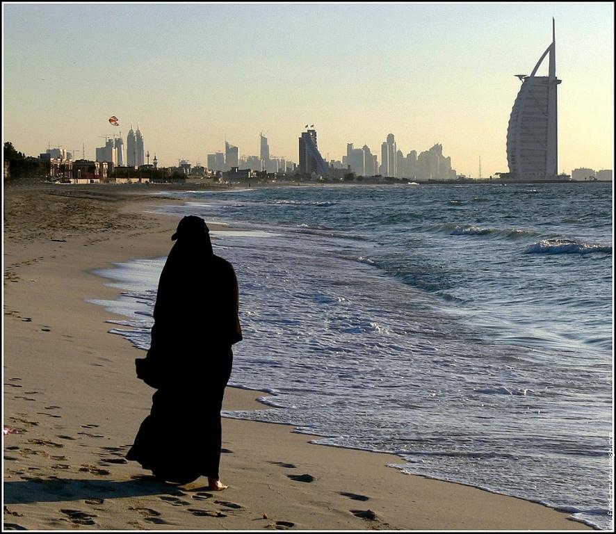 Femme à Dubai