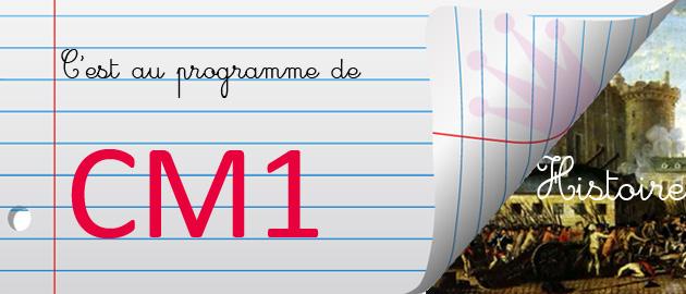 Programme-scolaire-Histoire-CM1