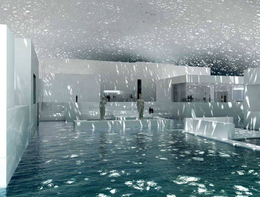 Louvre Abu Dhabi, Renderings:  Copyright Ateliers Jean Nouvel