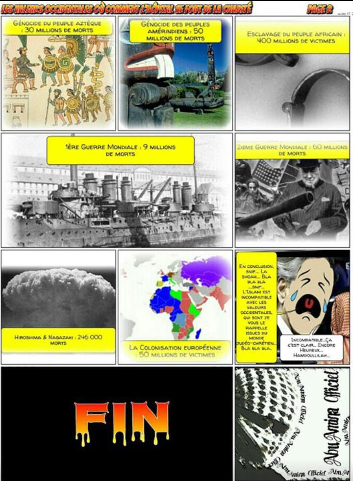Des génocides et des meurtres...