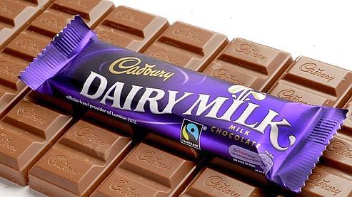 Chocolat Cadbury - tablette