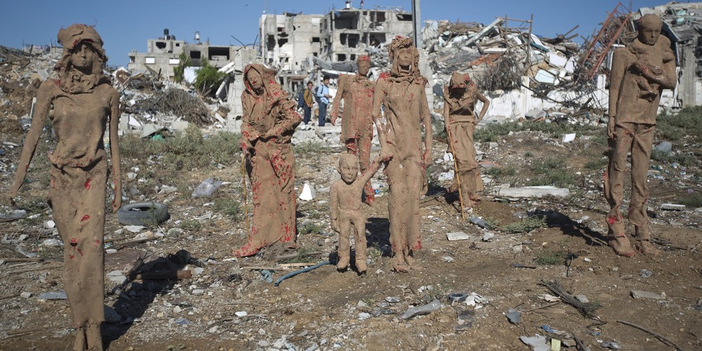 PALESTINIAN-ISRAEL-GAZA-CONFLICT-ART