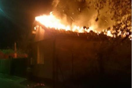 salle de prière musulmane incendiée