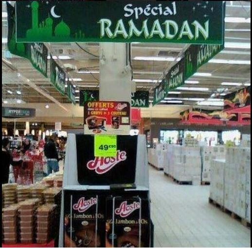 Ramadan 2013 : carrefour