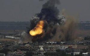 Gaza bombardée par Israël