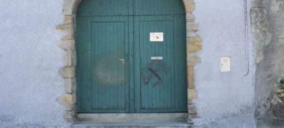 porte de la mosquée d'oloron