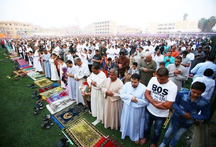 Prière de l'Aïd en Egypte