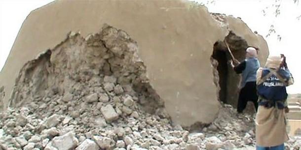 mausolée détruit
