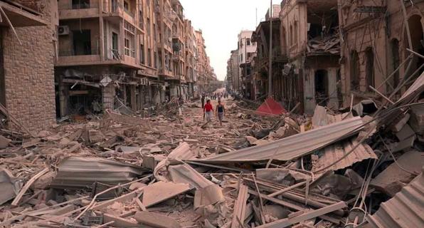 Syrie : Huit milliards de dollars pour recons...