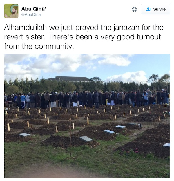 Angleterre : elle se reconvertie à l'Islam et meurt 10 plus tard