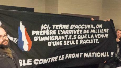La visite de Marine Le Pen au Québec ne se passe pas comme elle espérait
