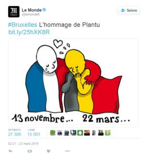 De la Turquie à la Belgique, hommages aux victimes des attentats