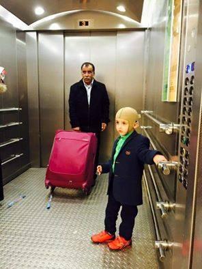 Ahmed Dawabcheh s'envole à la rencontre de Cristiano Ronaldo après avoir reçu son invitation !