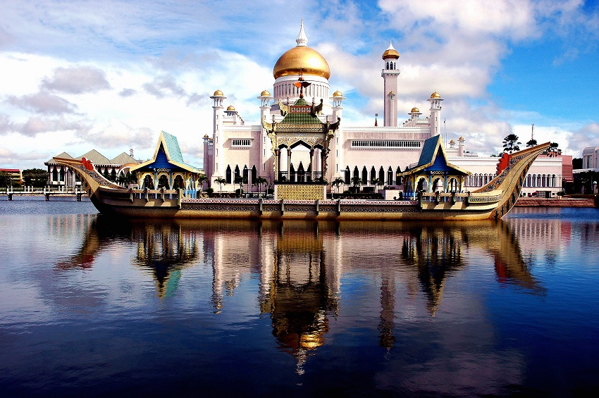 mosquée brunei