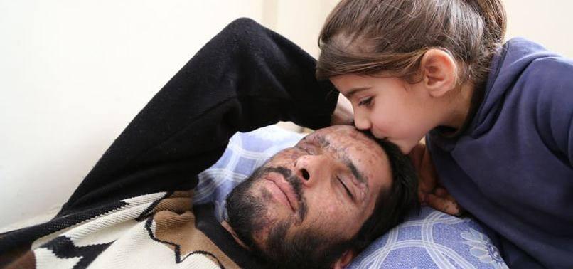 La fille d'un réfugié syrien aveugle : « Pren...