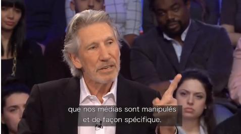 """[Vidéo] Roger Waters : """"j'ai pu constaté les malheurs du peuple palestinien"""""""
