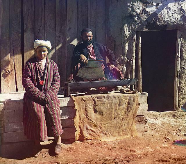 une maison de kebab à Samarkand