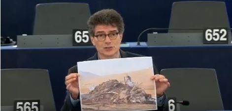 [Vidéo] Le député Pascal Durand blâme les démolitions en Cisjordanie lors d'une session plénière