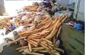 Gaspillage alimentaire à Alger : plus de 6 millions de baguettes jetées chaque jour