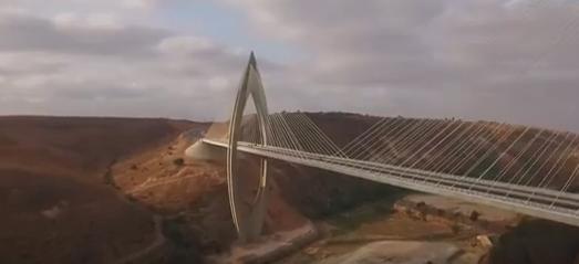 Le Maroc a inauguré le pont Mohammed VI, l'un des plus longs d'Afrique