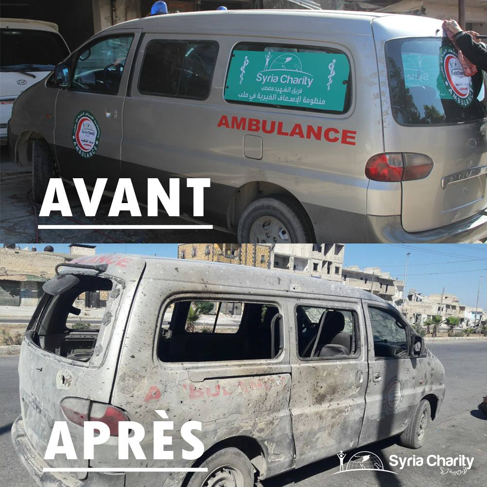 [INTERVIEW] – L'association Syria Charity : ne pas oublier la catastrophe humanitaire syrienne