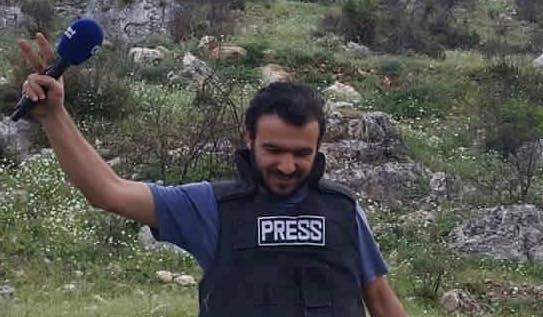 Le prix Reporters sans frontières est remis à un reporter syrien : Hadi Abdullah