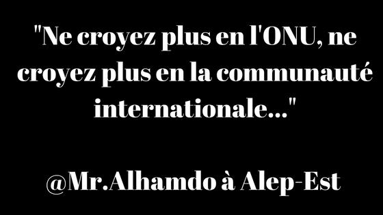 #Alep : les habitants font leurs adieux sur les réseaux sociaux !