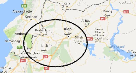 """Syrie : la ville d'Idlib pourrait être """"la prochaine Alep"""""""