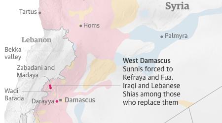 Des villes sunnites repeuplées par des chiites de Syrie, d'Iran, du Liban