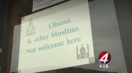 Etats-Unis : Une pancarte interdit aux Musulmans d'entrer dans une épicerie
