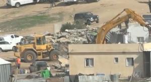 Israël détruit les maisons d'un village bédou...