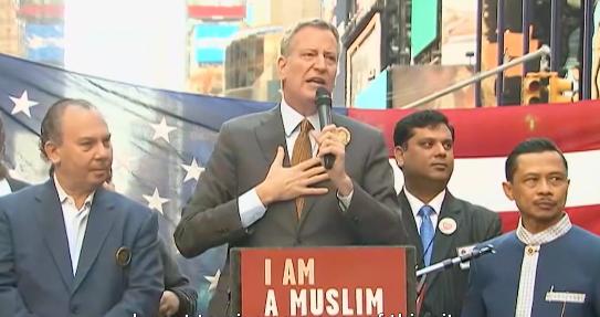 """""""Fier de dire que je suis musulman également"""" déclare le maire de New-York"""