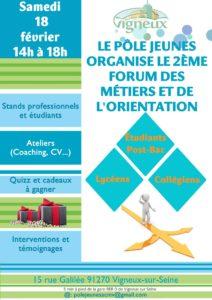 Deuxième édition du forum des métiers de la Mosquée de Vigneux sur Seine