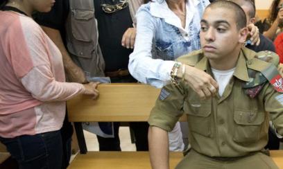 Le soldat israélien Elor Azaria risquait 20 ans de prison et écope de 18 mois