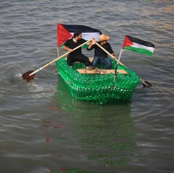 Bateau Gaza pêche