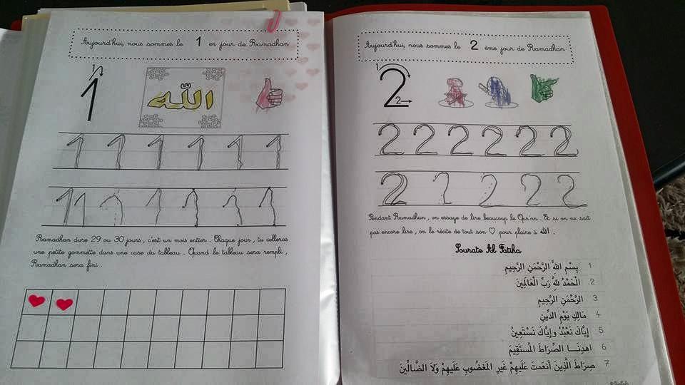 cahier ramadan enfant