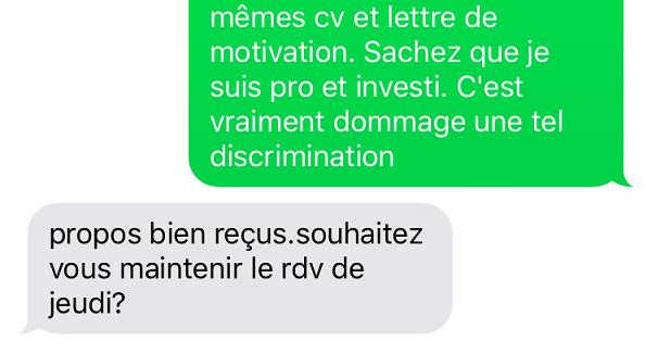 ccif discrimination emploi