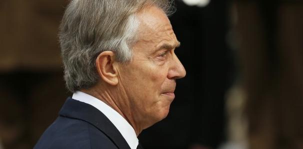 """Tony Blair : """"Il faut envoyer des troupes au sol en Syrie"""""""