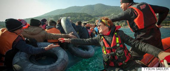 Grèce : le prix Nobel de la paix pour les habitants aidant les réfugiés
