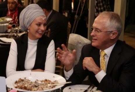 Premier iftar pour le premier ministre australien avec des représentants religieux