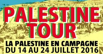 C'est parti pour le Palestine Tour à travers la France !