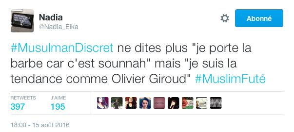 #MusulmanDiscret sur Twitter répond à Jean-Pierre Chevènement