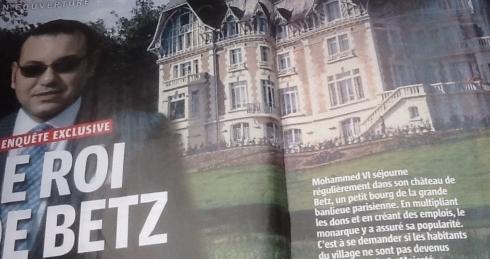 Dans l'Oise, le roi Mohammed VI finance un club de foot mais pas que !