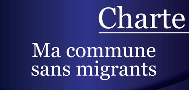 """Le FN propose la charte """"Ma commune sans migrants"""""""