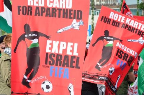 Les clubs israéliens de football dans les colonies bientôt sanctionnés par la FIFA ?