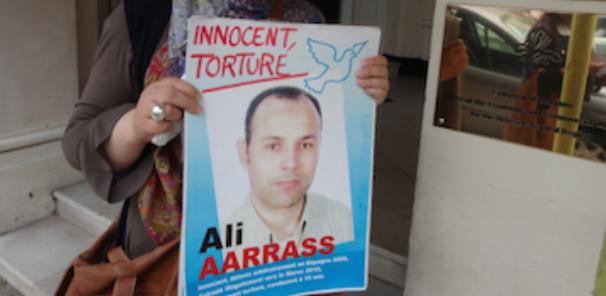 Pétition pour demander l'assistance consulaire belge à l'égard d'Ali Aarrass