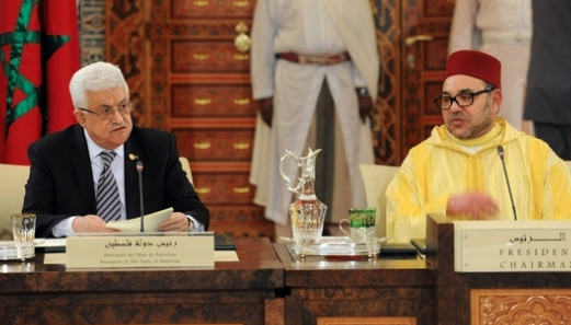Le roi Mohammed VI s'oppose à Donald Trump et soutient Mahmoud Abbas