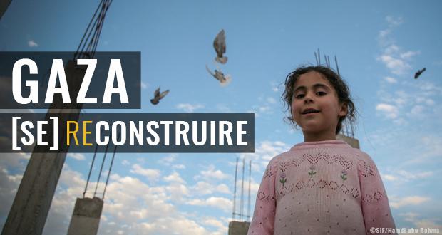 gaza se reconstruire SIF